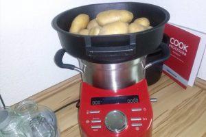 KitchenAid Cook Processor Test Kartoffeln