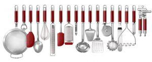 KitchenAid Küchenutensilien