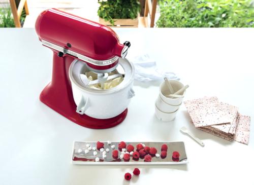 kitchenaid eismaschine Artisan Küchenmaschine