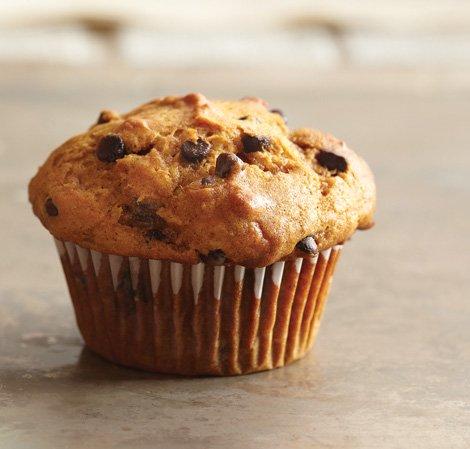 Süßer Kürbis-Muffin