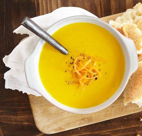 Karotten-Ingwer-Tofu-Suppe Vitamix
