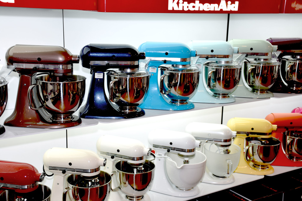 KitchenAid colours Farben