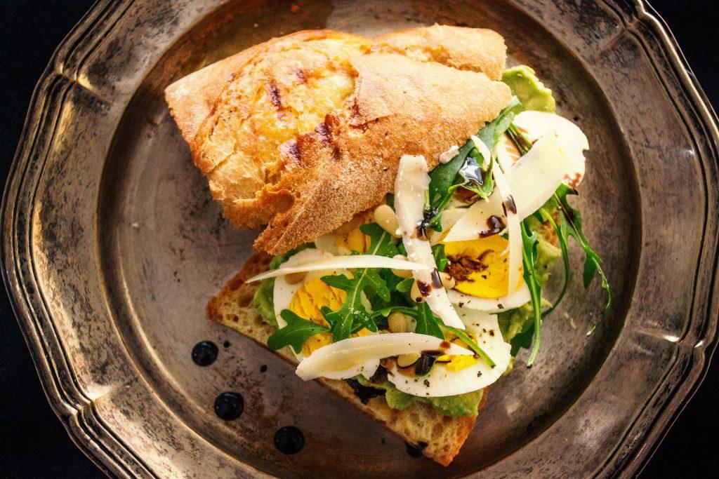 rezepte ostern Ei-sandwich mit Parmesan