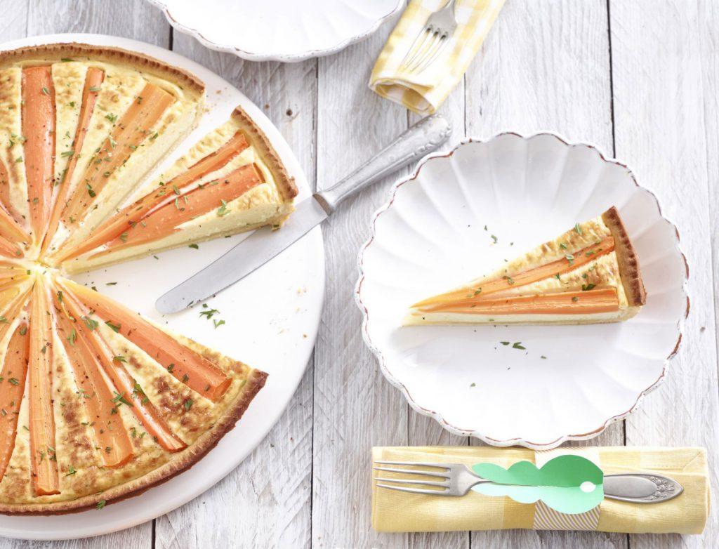 Rezepte Ostern Karotten-Tarte