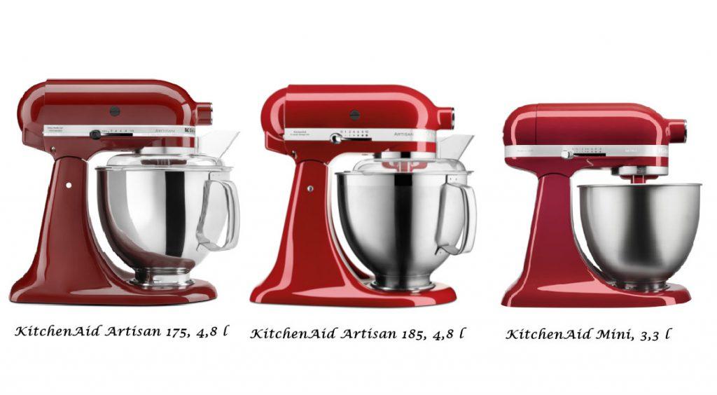 KitchenAid Küchenmaschine schenken Modellvergleich