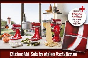KitchenAid-Set inklusive Kochbuch