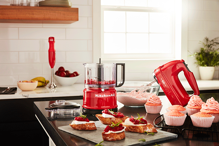 Stabmixer KitchenAid Queen of Hearts