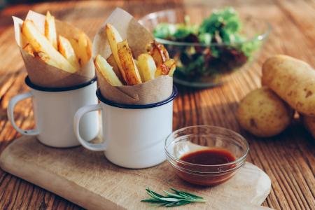diy lebensmittel selber machen pommes ofen