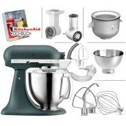 KitchenAid Artisan 5KSM185PSE Vorteils-Set 2 Küchenmaschine