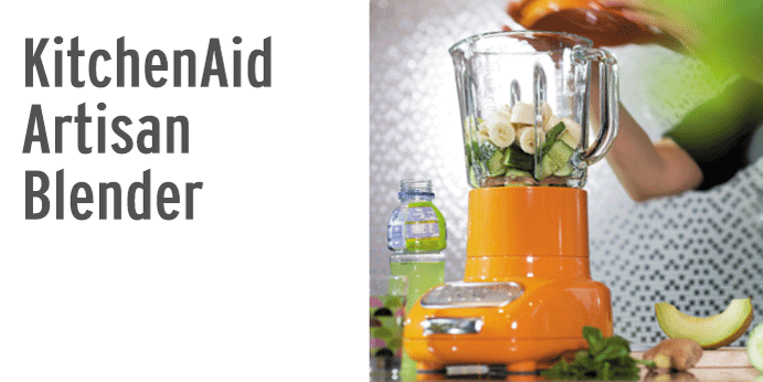 KitchenAid Artisan Standmixer - die Smoothie-Maschine