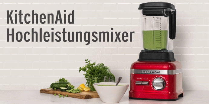 KitchenAid Power Plus und Power Blender bei Küchen-Fee Online-Shop