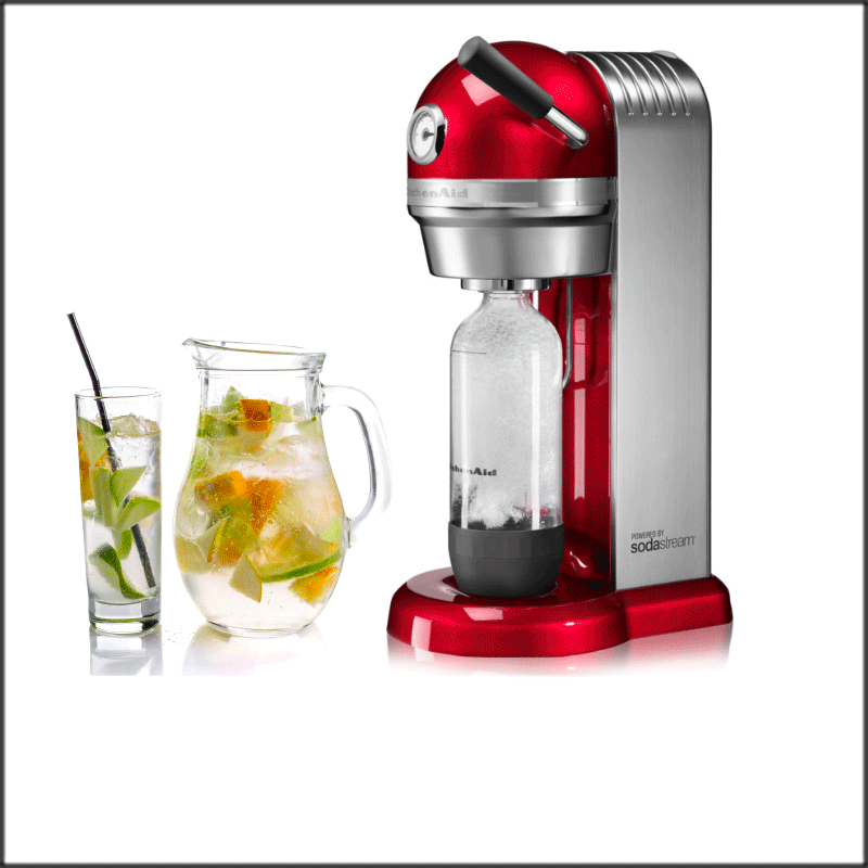 KitchenAid Sodastream - der beste Sodastream von Kitchenaid - Testsieger
