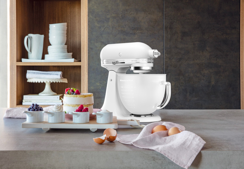 KitchenAid Vorteilssets Frosted Pearl