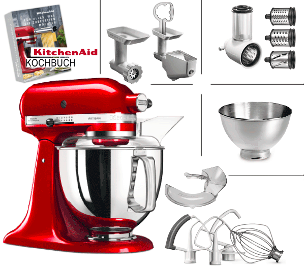 KitchenAid Vorteilsset 4
