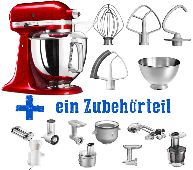 KitchenAid Vorteilsset Basic 5KSM185PSE